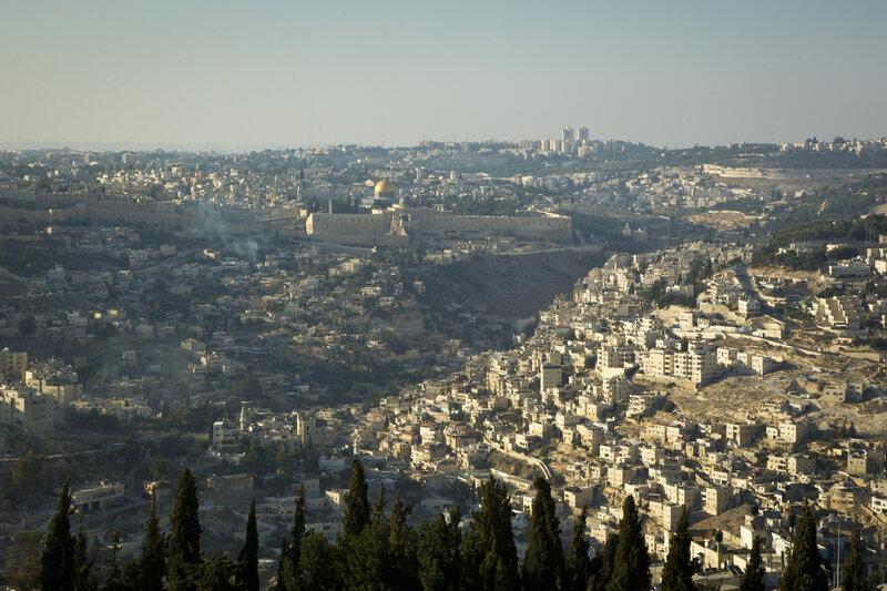 A bird's eye view of Jerusalem. UN Photo/Rick Bajornas
